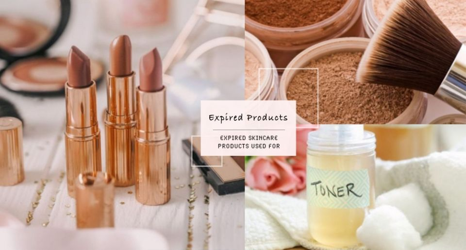 先別急著丟!這5種「過期保養品、彩妝」竟然還有這些用途,原來口紅還可以這樣用?!