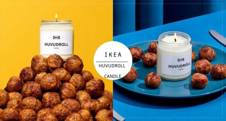 是熟悉的肉丸味!IKEA推出「經典肉丸香味蠟燭」,點下去讓家中充滿肉味彷彿置身IKEA飲食部!