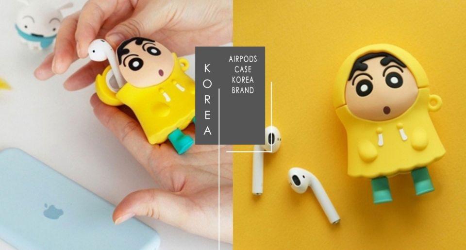 耳機的保護就交給蠟筆小新!韓國推出「立體蠟筆小新耳機保護殼」超萌造型想一秒擁有它♡