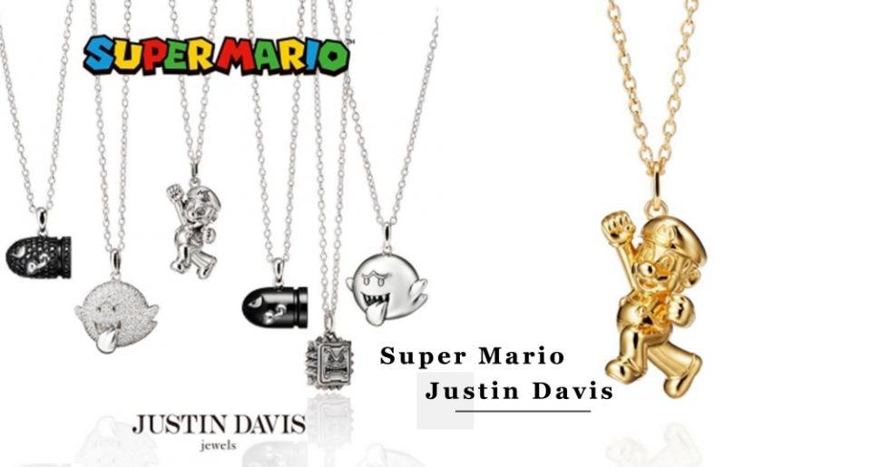 瑪利歐項鍊太可愛!日牌飾品Justin Davis推出超級瑪利歐聯名項鍊,還有害羞精靈、砲彈刺客也好欠買!