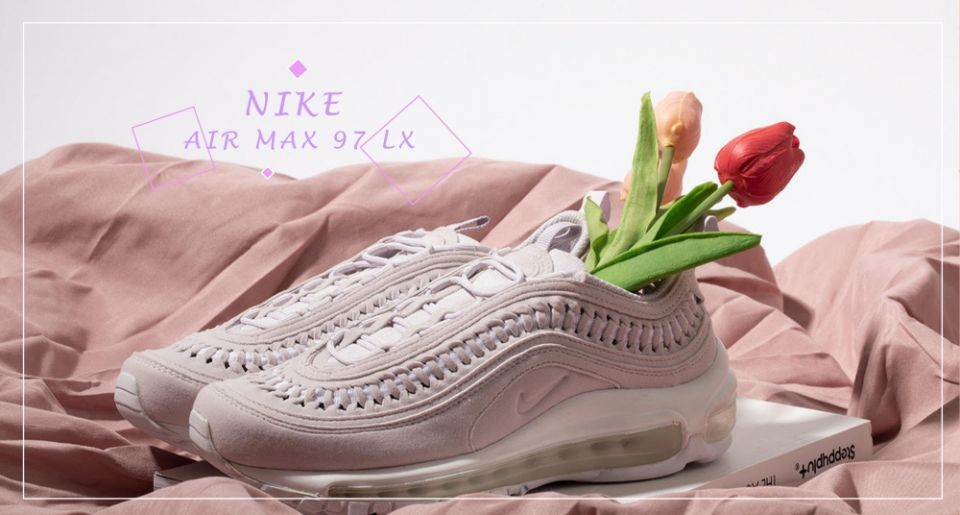 是小仙女的鞋!NIKE AIR MAX 97 LX 全新 絕美薰衣草淡紫色♡夢幻又浪漫,精緻質感女孩能不心動嗎?