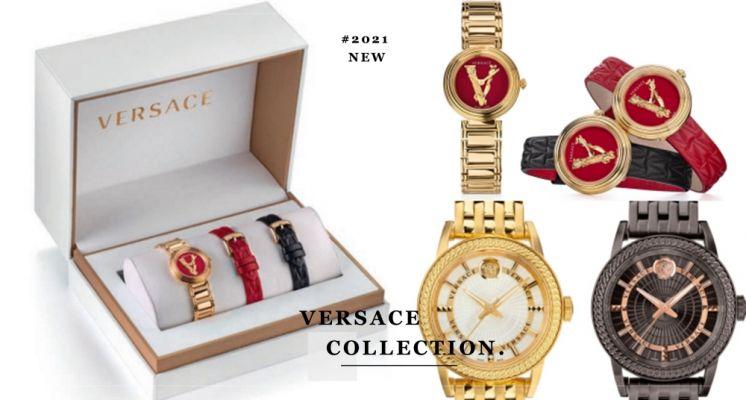 VERSACE全新春夏系列腕錶!時髦配色+羅馬女神浮雕,華麗精緻展現女孩們獨一無二的優雅氣質♡