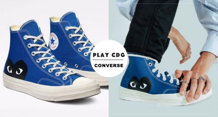Converse X 川久保玲CDG 10週年全新色登場!丹寧寶藍、質感鐵灰超耐看~售價、販售資訊請入內!