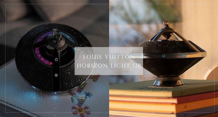 LV全新飛碟音響超級酷!飛碟造型搭配經典老花圖案時髦度破表,還會隨音樂變換7種不同燈光秀!