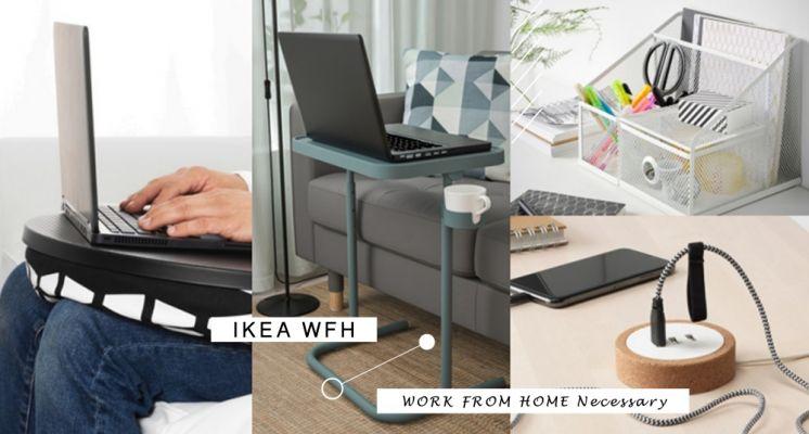 WFH這幾樣都好需要!IKEA居家辦公必備好物推薦Top5,樣樣實用度爆表~這款電腦墊竟然還有這項功能!