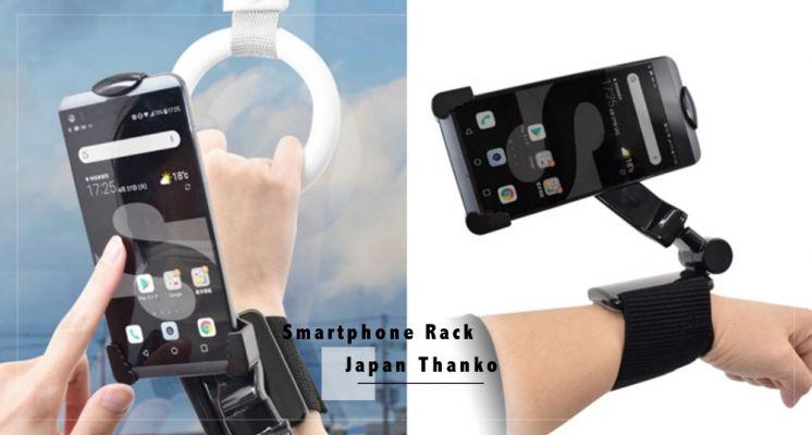 微實用!日本推出可以「裝在手腕上」的手機支架,360度自由調整,通勤追劇、運動騎車超方便!