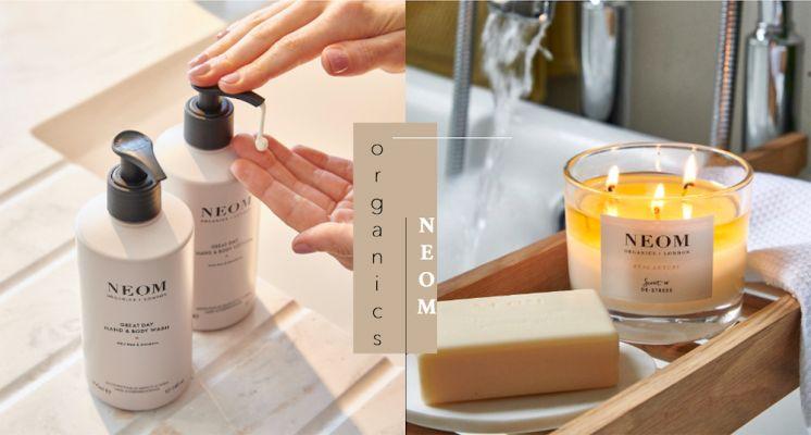 洗手也要儀式感!全新上市的NEOM身體保養系列,日安美好、完美幸福 用香氣來療癒每個日常。