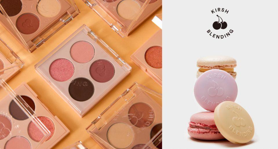 小心軟萌櫻桃爆擊!由宋江代言的韓國甜美潮牌KIRSH,推出全新彩妝支線「KIRSH BLENDING」,免代購正式在台發售!