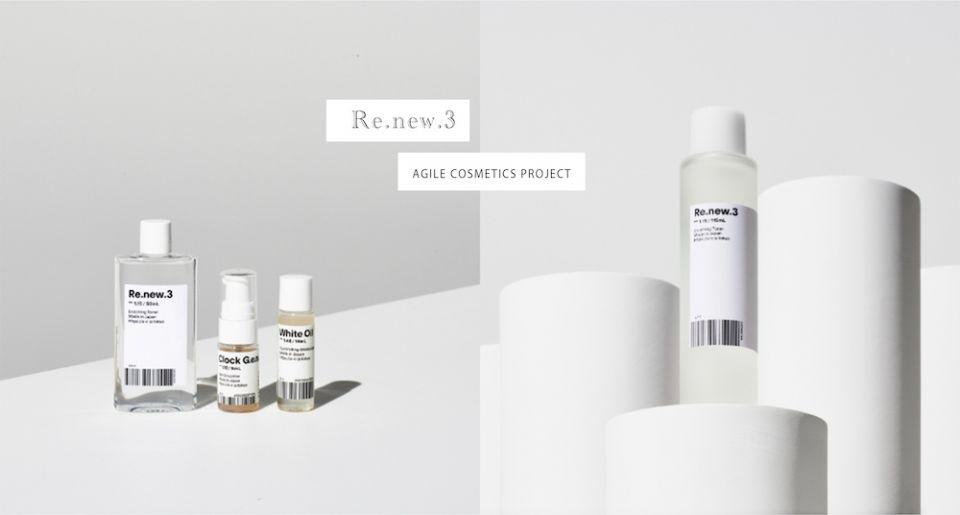 日本代官天然保養新潮流品牌ACP,因應「口罩肌」而新生的肌能水Re.new.3,兼備化妝水、前導液、精華液 一瓶就能淨膚保濕
