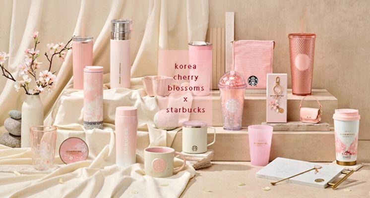 粉嫩櫻花季到來!韓國星巴克2021全新「春櫻系列」上市,櫻花開口造型馬克杯、AirPods Pro皮革保護套必收!