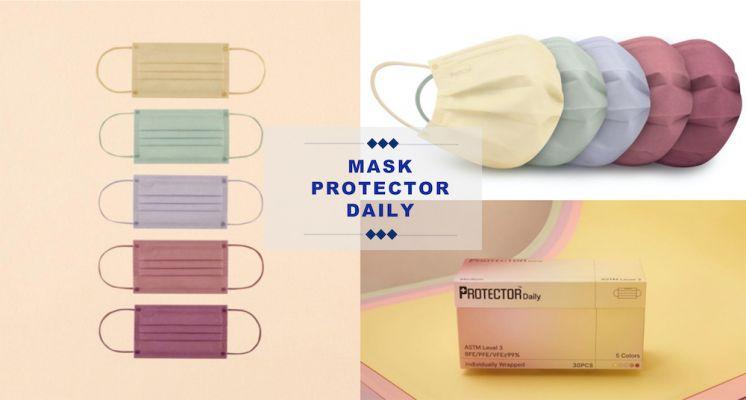 整盒Pantone色調口罩超燒!香港品牌Protector推出最新春日少女必備的乾燥玫瑰、奶油黃及迷迭紫!