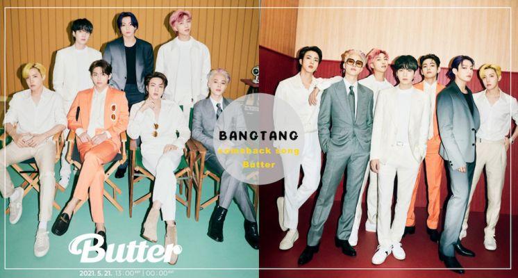 您的奶油少年團已上線~BTS防彈少年團全新英文單曲《Butter》回歸!必知3個新歌彩蛋!阿米:歌詞太撩♡