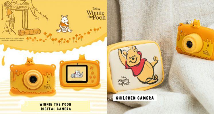 用維尼的視角看世界♡711預購「小熊維尼兒童數位相機」內建維尼相框+濾鏡,融化蜂蜜造型萌翻!