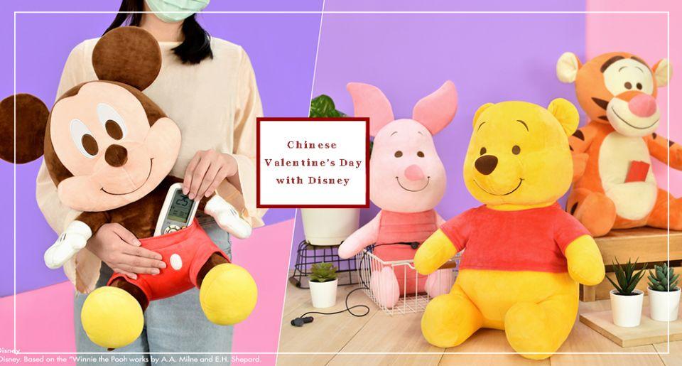 七夕就送這個!迪士尼20款超萌「沙發玩偶」、「置物玩偶」!維尼肚子可以藏小物♡1+1不到500元入手!