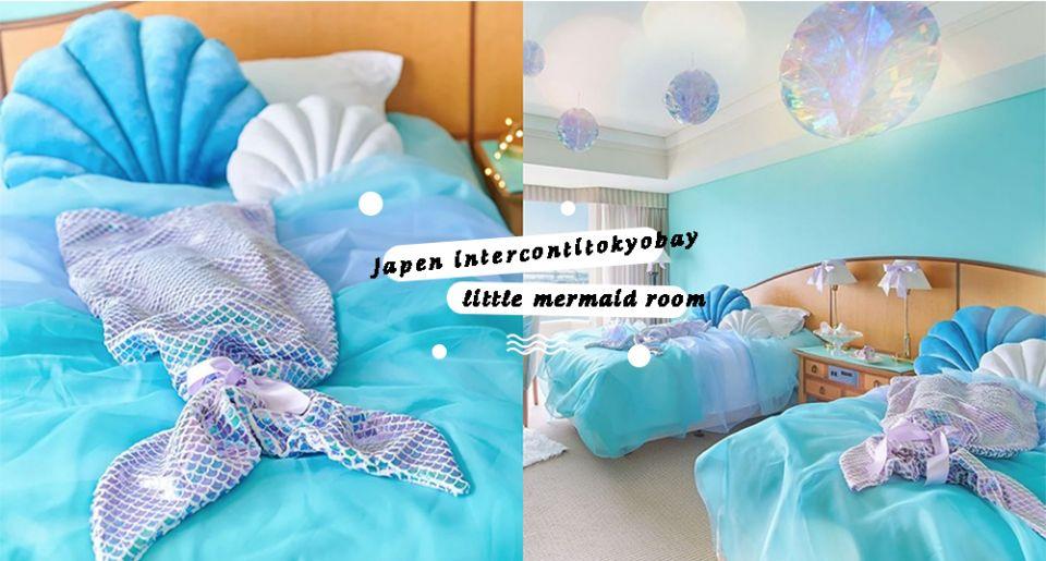 冰宮或海底世界都可以!日本酒店推超夢幻「小美人魚、冰雪奇緣」公主房型♡入住童話世界不是夢!