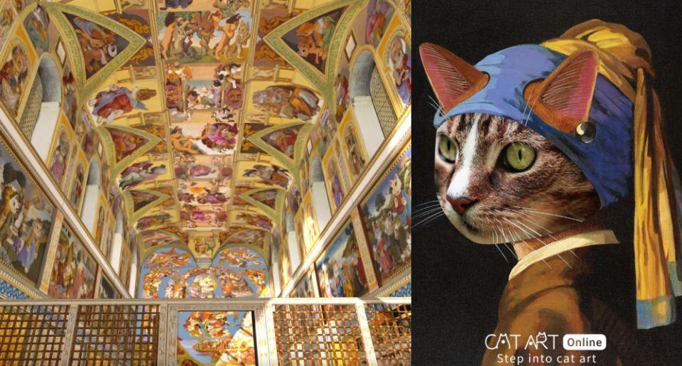2021貓奴必看展覽!「貓.美術館」線上展走進喵次元正式售票!結合VR沈浸式體驗、在家爽看124幅經典畫作!