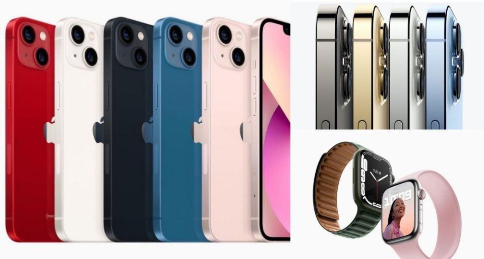 蘋果2021秋季發表會懶人包:iPhone13系列新色出爐、iPad第九代上市、iPad Mini6、Apple WatchS7⋯⋯