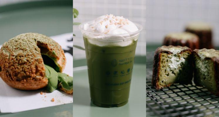 抹茶季登場!2021春天第六市場必吃「抹茶季甜點」,銅板價就能吃到!