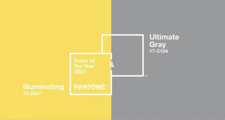 PANTONE公布2021年代表色!「Ultimate Gray 極致灰」及「Illuminating 亮麗黃」,帶著希望來迎接新的一年!