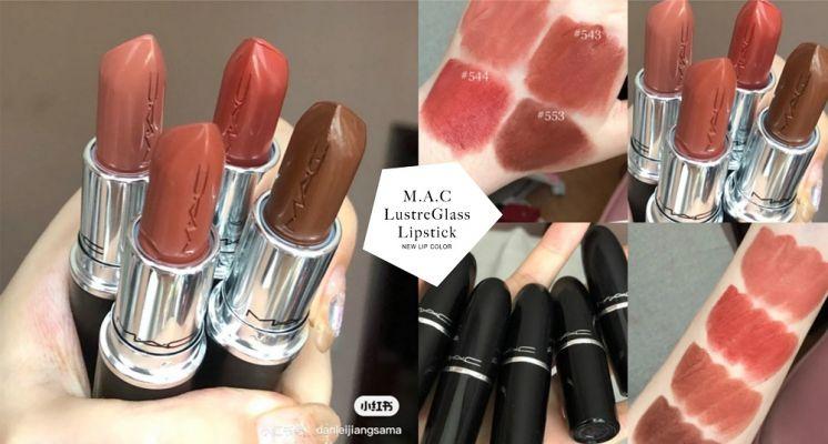 唇膏控注意!M.A.C推出「水漾潤澤唇膏」全新玻璃唇美色,這支「#牛奶栗子棕」斷貨預警!
