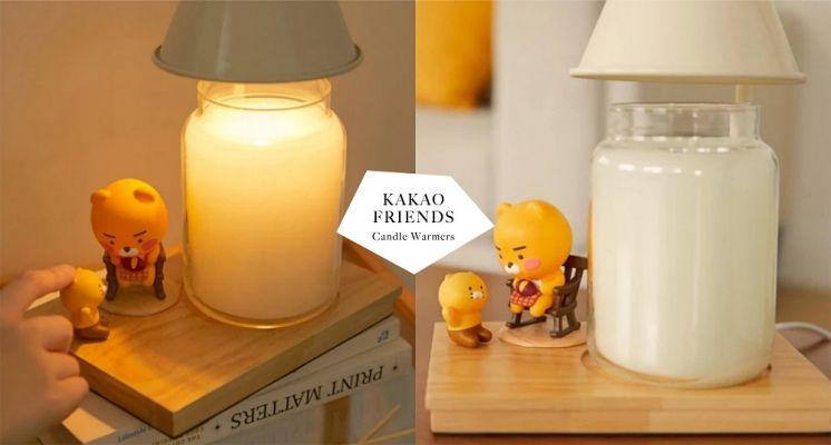 萊恩控必收!KAKAO FRIENDS推出「萊恩&春植蠟燭暖燈」,當作夜燈也超實用!