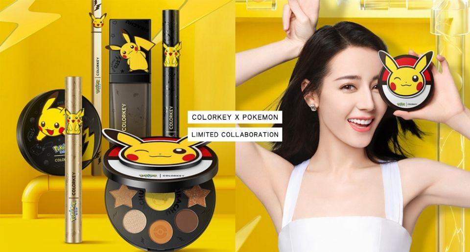 寶可夢迷必收!彩妝品牌COLORKEYXPOKEMON推出聯名彩妝,寶貝球眼影盤可愛爆~