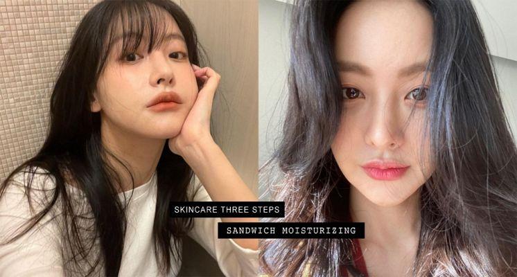 乾肌必須學起來!日韓女生都愛用的「三明治保濕法」,隔天上妝超透亮服貼!