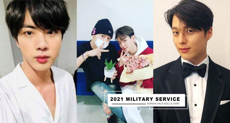 盤點2021年即將入伍的韓國男星,BTS隊長JIN、金明洙、張基龍都在清單上!