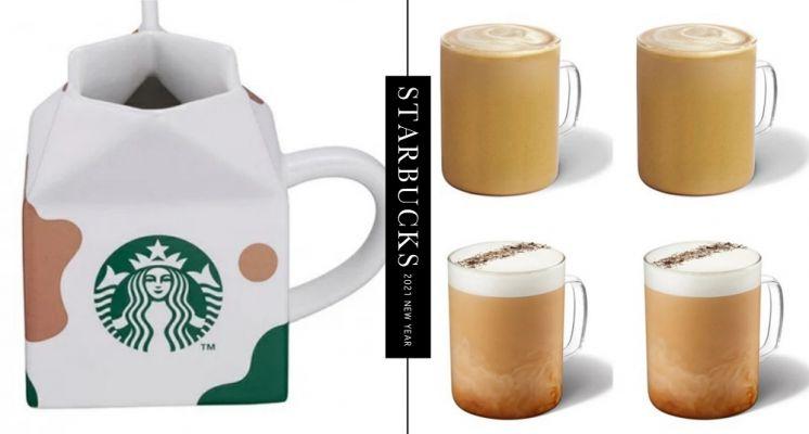 買一送一又來了!星巴克推出新品「煙燻奶油糖風味那堤」,還有超萌「牛奶盒馬克杯」