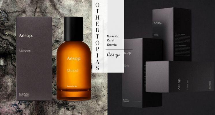 香迷必收!Aesop推出「虛實之境系列」三款木質調新香,預計七月初開賣!