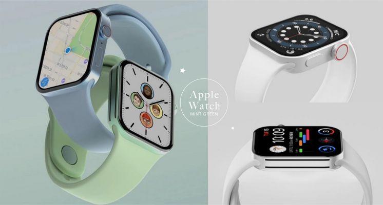 果迷必看!Apple Watch S7「極美薄荷綠」搶先曝光,直角方框設計手感更輕薄!