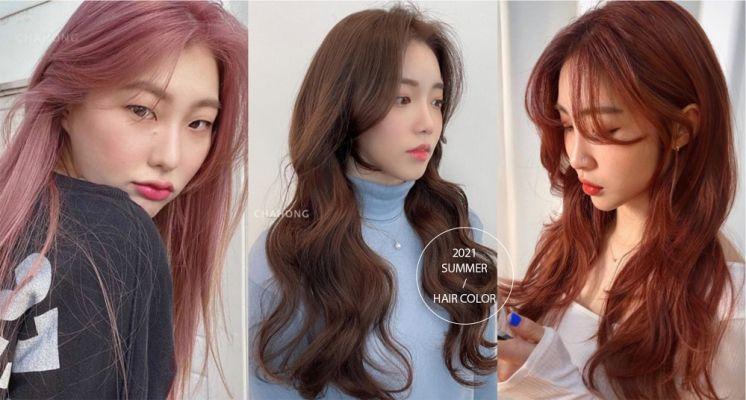 2021夏季髮色推薦!玫瑰金、奶油米、焦糖棕色誰染誰好看,這款更是韓星夏日必染髮色!