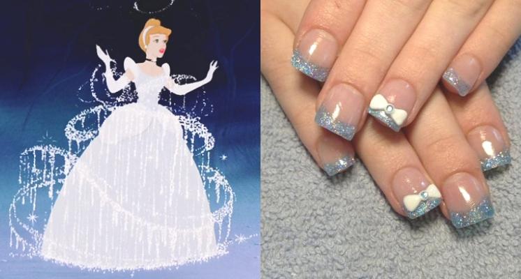 連手指都浪漫!迪士尼公主系列的唯美指彩~貝兒、愛麗兒、白雪公主、睡美人任你選
