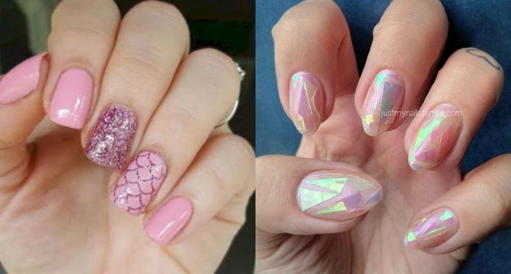 把人魚的眼淚畫在手指上!比獨角獸指彩更美的「人魚指彩」~要高調、低調、浪漫都可以