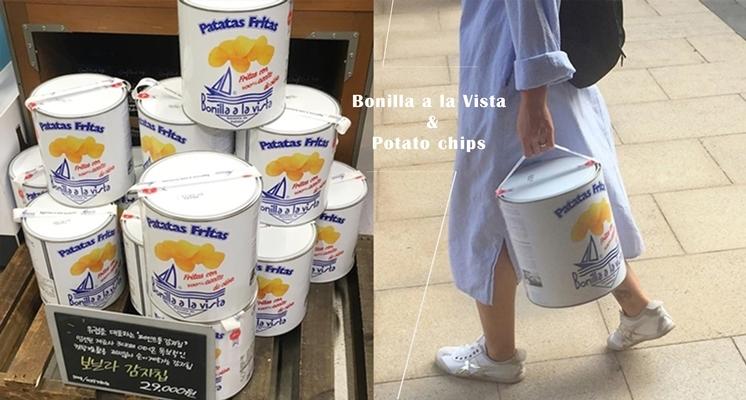 「油漆桶洋芋片」台灣開賣啦~韓妞人手都提這桶!號稱最健康的西班牙洋芋片,吃了沒有罪惡感又能耍時尚♡