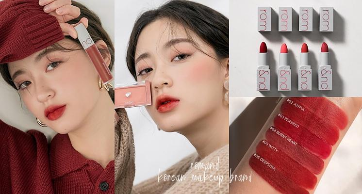 韓國彩妝品牌「ROMAND」必買清單!每色都能把妳美到哭,根本誘使女孩包色啊!