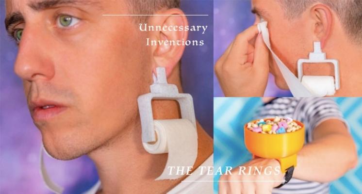 眼淚要掉下來,拉一下耳環就好啦~國外超狂「衛生紙耳環」,絕對是愛哭包女孩必備單品!