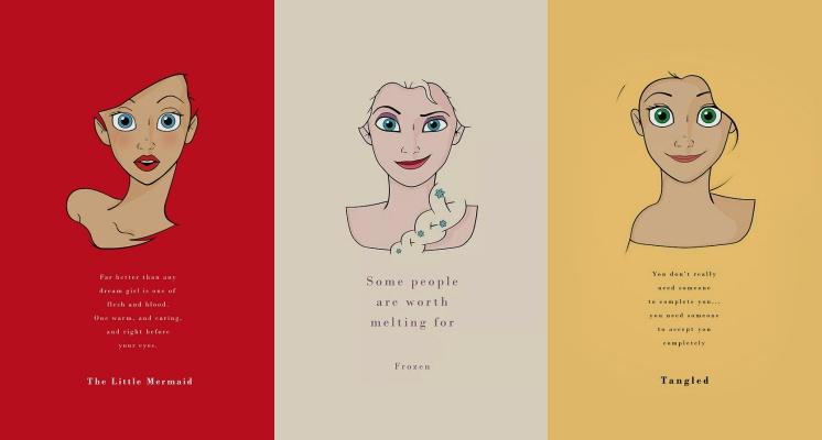 【桌布特輯】公主鐵粉必收藏!精選9張迪士尼公主的勵志語錄桌布,女孩們趕快先換起來!