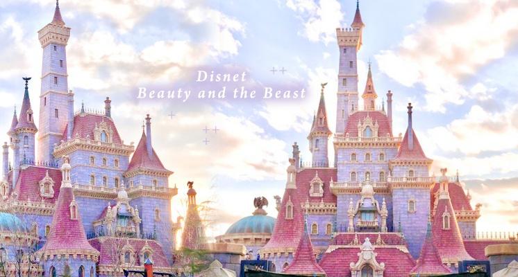 粉紫色城堡夢幻爆棚!東京迪士尼《美女與野獸》必朝聖3大重點,貝兒小鎮化身周邊商店超欠逛~