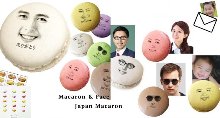 笑得你心裡發寒!日本超獵奇「人臉馬卡龍」引熱議,印上自己的臉送給朋友吧~
