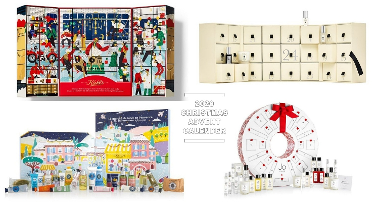 2020聖誕倒數月曆搶先看!Jo Malone、Kiehl's、YSL一年比一年還豐富,所有願望一次滿足