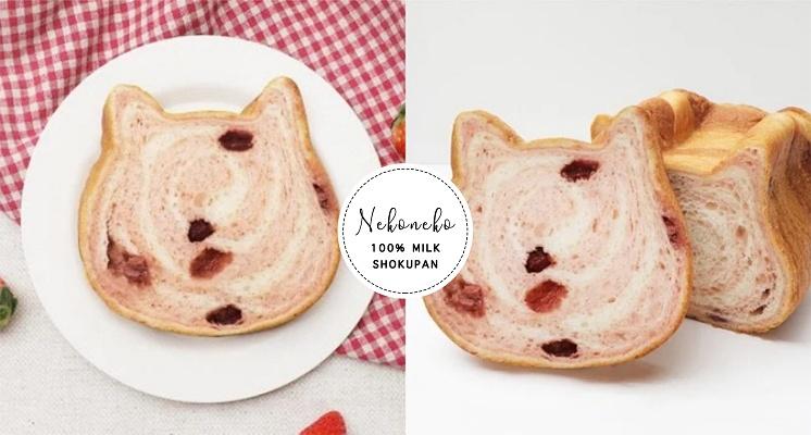 麵包控看過來!貓咪生吐司X吳寶春推出「快閃貓咪吐司餐」,再加碼限定新口味「草莓斑紋貓咪生吐司」!